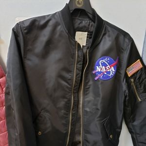 H&M.  NASA bomber jacket worn twice